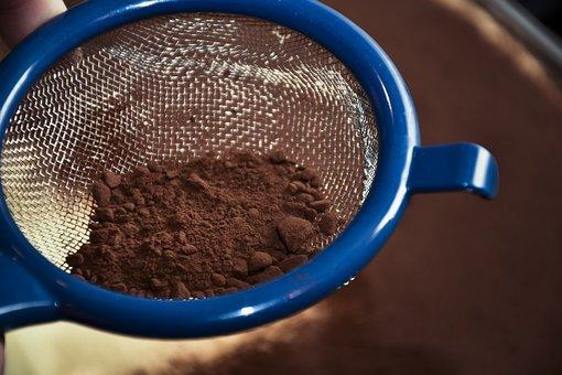 Cocoa, Chocolate, Cake, Sweet, Tiramisu, Dish, Eat