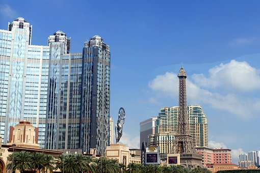 Macau, China, Macao, Architecture, Building, Facade