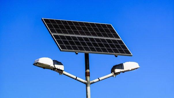 Solar Panel, Lamps, Electricity, Energy, Solar, Panel