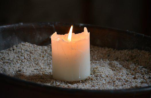 Candle, Flame, Light, Old Church, Church, Wax, Prayers