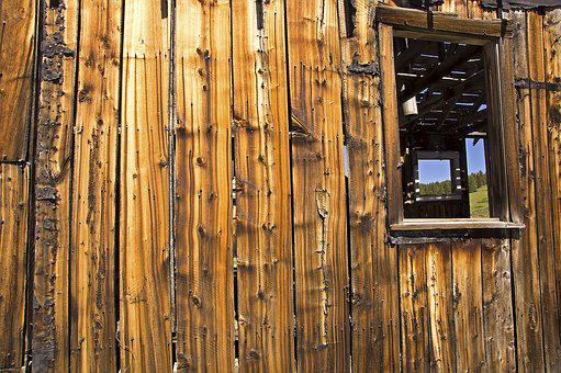 Shack, Ghost Town, Abandoned, Wooden, Building