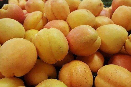 Apricots, Fruit, Stone Fruit, Seasonal, Orange, Food
