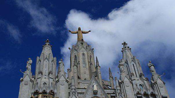 Sacred Heart Of Jesus, Church, Spain, Barcelona