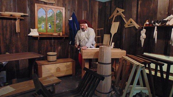 Shop, Carpenter, Medieval