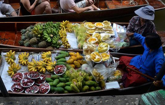 Fruits, Boats, Cooking, Food, Travel, Tropical