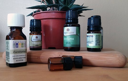 Essential Oil, Essential, Oils, Bottles, Aromatherapy