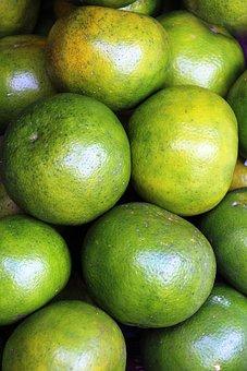 Limes, Citrus, Green, Fruit, Fruits, Assortment