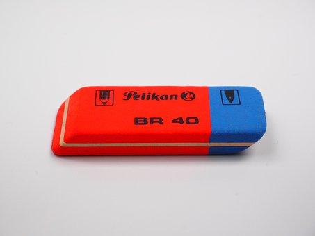 Eraser, Office Supplies, Office, Office Accessories
