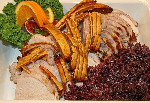 Pork Roast, Pork Loin, Pork, Red Cabbage, Severe