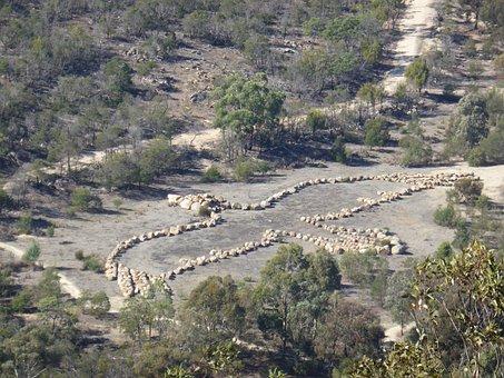 Landscape, Land Art, Andrew Rogers, Australia, Victoria