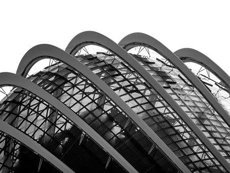 Dome, Shape, Texture, Singapore, Architecture