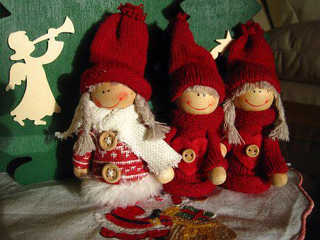 Imp, Christmas Elves, Christmas, Advent