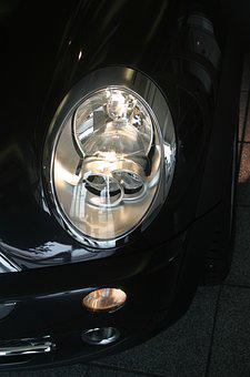 Auto, Light, Lamp, Spotlight, Lights