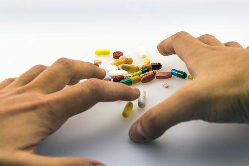 Hands, One, Medicinal Products, Medication, Drug