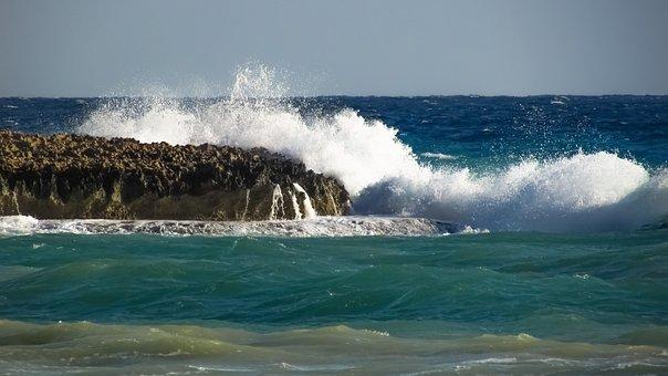 Wave, Smashing, Rocky Coast, Sea, Cape, Nature, Crush