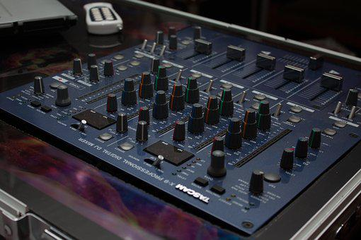 Mixer, Disco, Music, Dj, Technical Device