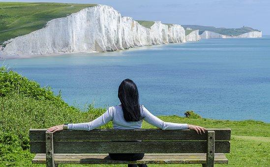 Ocean, Women, Sea, Summer, Beach, Woman, Travel