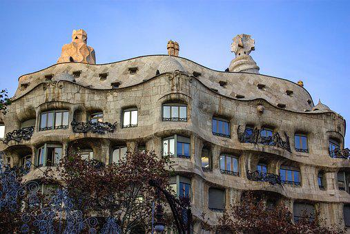 Gaudi, Casa Mila, Building, Barcelona, Architecture