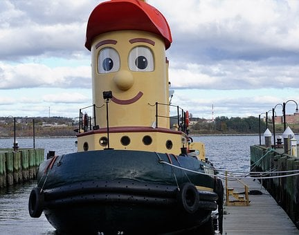 Boot, Canada, Halifax Sky, Port, Beach, Theodor