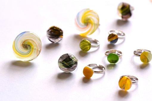 Jewelry, Glass, Call, Crafts