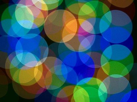 Christmas, Lights, Bokeh, Decoration, Celebration
