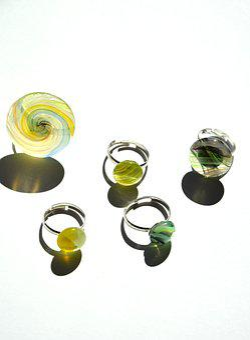 Call, Jewelry, Crafts, Glass
