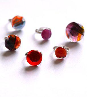 Call, Glass, Jewelry, Crafts