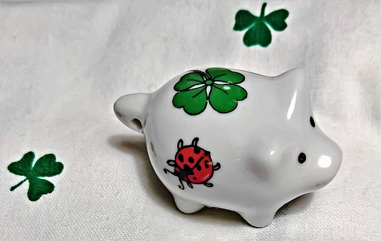 New Year's Eve, Lucky Pig, Lucky Charm