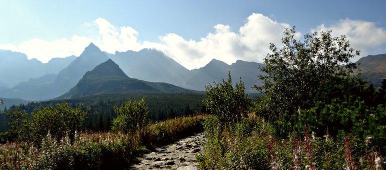 Tatry, Mountains, Trail, Landscape, The High Tatras