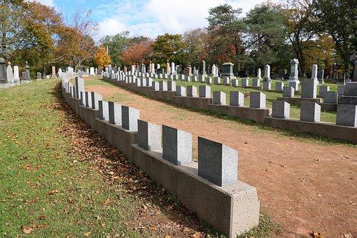 Cemetery, Titanik, Halifax, Canada, Nature, Grave