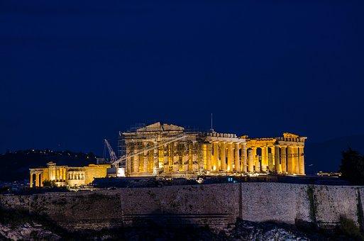 Greece, Acropolis, Athens, Ancient, History, Greek