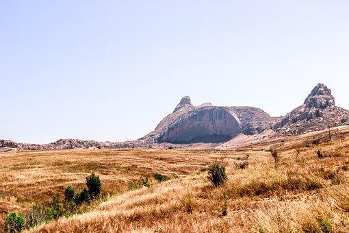 Landscape, Dinosaur, Pierre, Mountain, Madagascar
