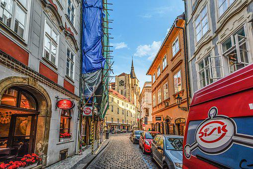 Prague, Sky, Czech, City, Europe, Old, Town