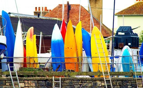 Kayaks, Sport, Canoe, Kayaking, Summer, Adventure