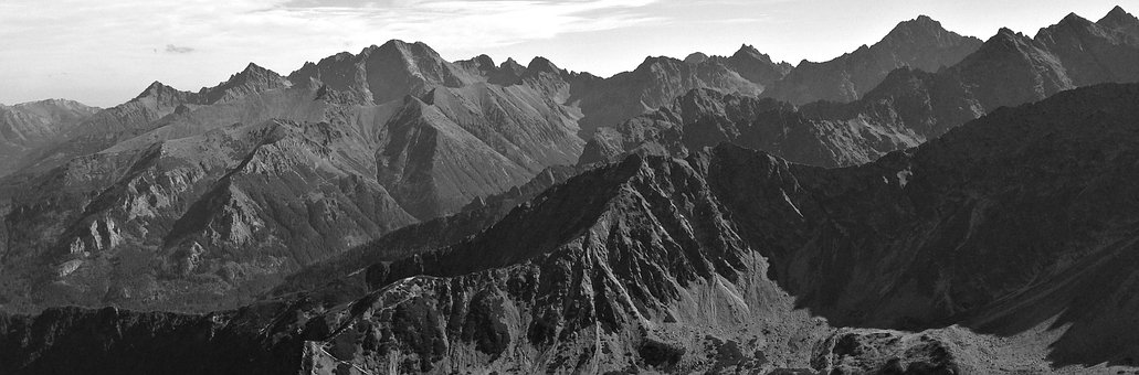 Mountains, Tatry, The High Tatras, Landscape, Tops