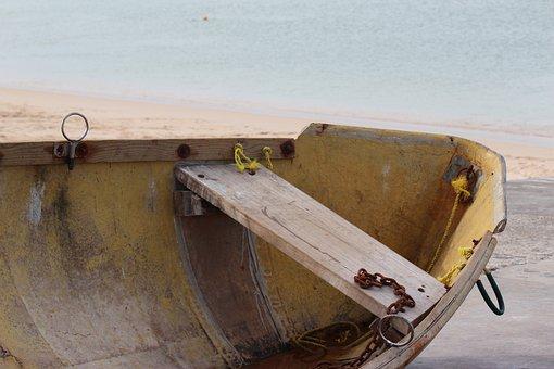 Rowing Boat, Boating, Vessel, Sea, Water, Sloop, Boat