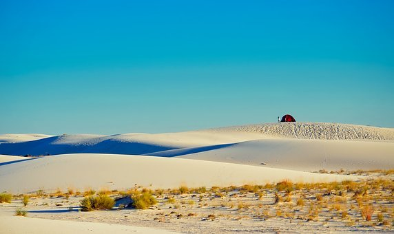 White Sands National Monument, New Mexico, Sand, Dunes