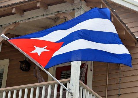 Cuban Flag, Havana, Cuba, Flag, National, Caribbean