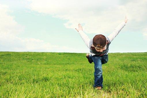 Childhood, Child, Flight, Free, Luck, Flyer, Children