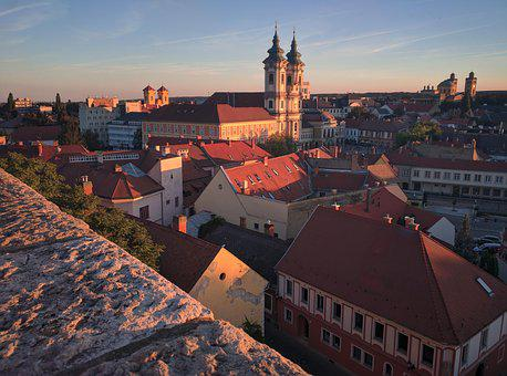 Hungary, Eger, Europe, Tourism, City, Architecture