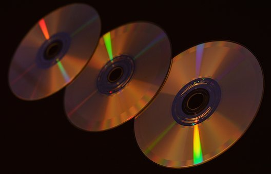Cd, Yellow, Abstraction, The Art Of, Cd Rom, Drive