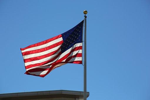 Flag, Usa, Patriot, American, Patriotic, Blue, America