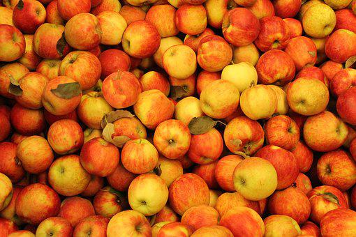 Apples, Red, Red Apple, Fruit, Food, Nature, Healthy