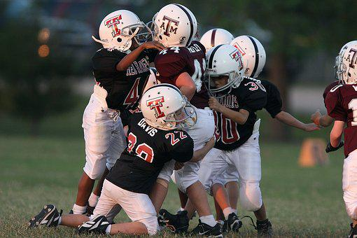 Football, American, Youth League, Players, Sport, Game