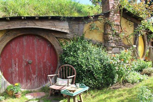Hobbiton, New Zealand, Movie Set, Location, The Hobbit