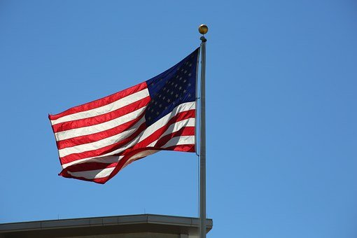 Flag, Usa, Patriot, American, Patriotic, Blue, America