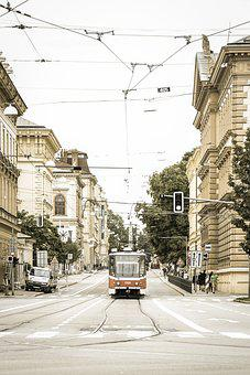 Tram, Transportation, Wiring, Transport, Rail, Train