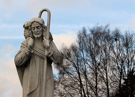 Jesus, Shepherd's Staff, The Good Shepherd, Lamb