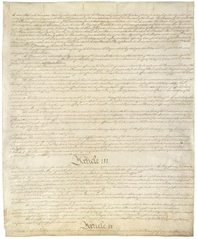 Constitution, United States, Usa, America