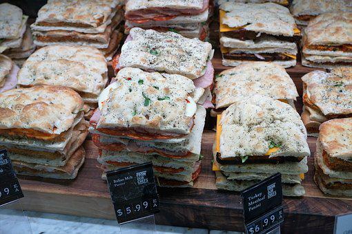 Eat, Bread, Food, Street Food, Market, Ciabatta